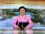 À la retraite depuis 2012, la présentatrice revient sur le plateau de la télévision coréenne pour relater les essais nucléaires que livrent actuellement la Corée du Nord.