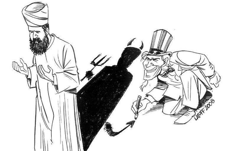 fr.shafaqna - La Caricature : l'islamophobie, une sujet qui l'Occident dessine