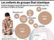 fr.shafaqna - Graphique : Les enfants des combattants étrangers du groupe Etat islamique