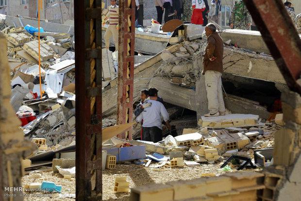 fr.shafaqna - au moins 328 morts, Un puissant séisme en Iran et en Irak