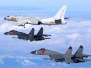 fr.shafaqna - La Chine effectue des exercices de frappes aériennes sur Guam