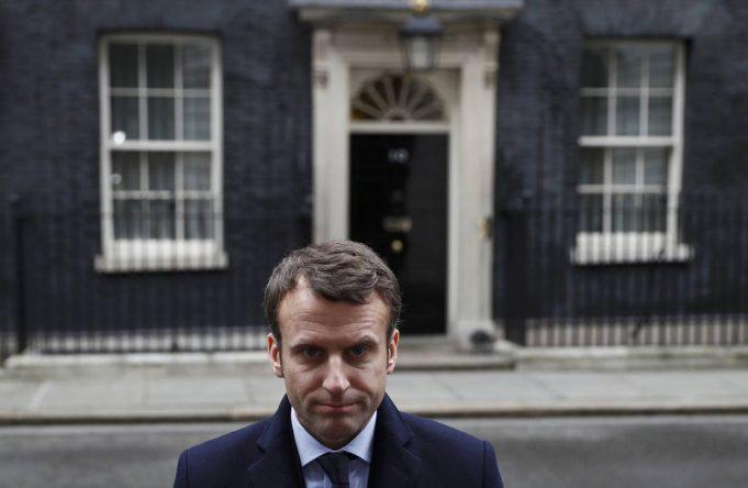 fr.shafaqna - L'UK derrière la France: merci Macron?