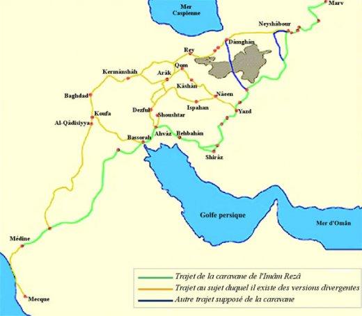 fr.shafaqna - L'Imâm Rezâ et son rôle dans l'enracinement du chiisme en Iran