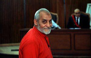 fr.shafaqna - Prison à vie pour le guide suprême des Frères musulmans