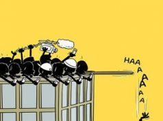 fr.shafaqna - Le dessin : Comment Les réseaux sociaux dirigent nos vies