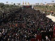 fr.shafaqna - Les pèlerins chiites affluent à Kerbala en Irak pour l'Arbaïn