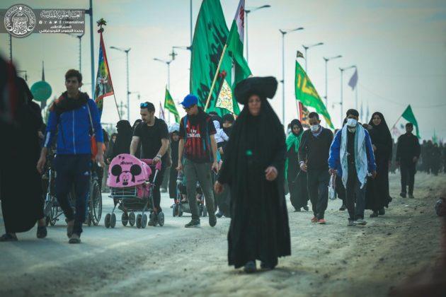 fr.shafaqna - Photos : Marche d'Arbaeen (Partie III)