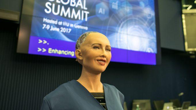 fr.shafaqna - Androïd saoudienne: droit des Robots contre droit de l'Homme