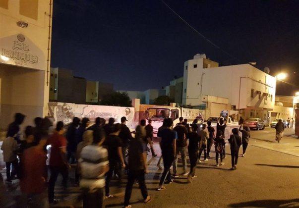 fr.shafaqna - Manifestations des Bahreinis en soutien au Cheikh Issa Qassem