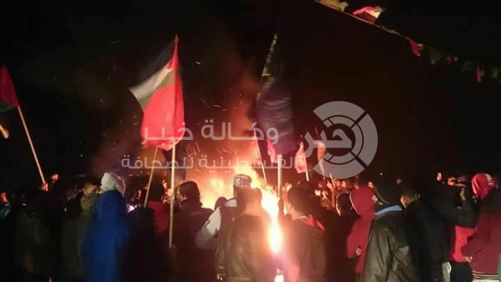 fr.shafaqna - Les Palestiniens ont manifesté en soutien à la ville de Qods