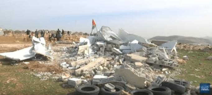 Israël détruit pour la 5e fois une école financée par l'Union européenne