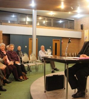 Mgr Harpigny en conférence à la chapelle du Sacré-Coeur de Charleroi