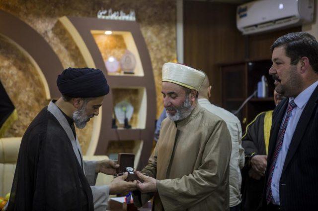 fr.shafaqna - Caravane de bonté intitulé la campagne du Grand Wafa atterrit sur sa deuxième station de la province de Salahuddin