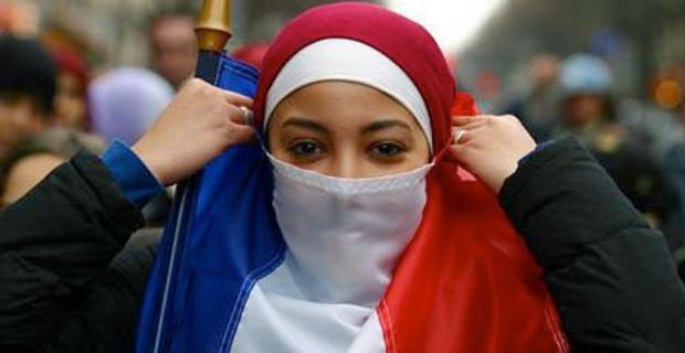 French - Veil - Voile - Femmes Musulmanes