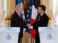 Macron - Netanyahu