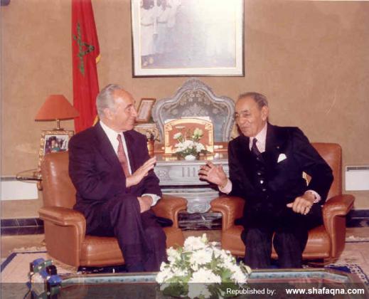 Morocco - Hassan II - Israel (1)