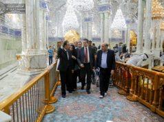 Saint Sanctuaire Alawite le sanctuaire sacré de l'Imam Ali Imam Ali