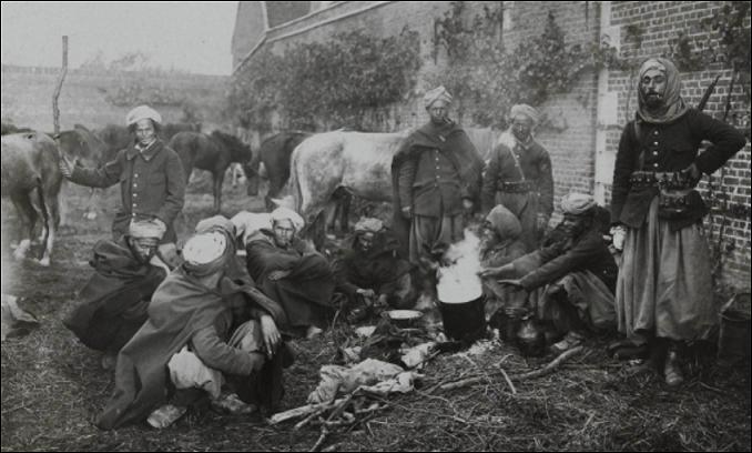 Soldats musulmans français guerre mondiale combattants originaires du Maghreb armée française Musulmans de France histoire de l'Islam en France