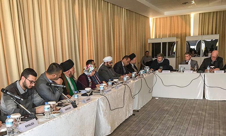 fr.shafaqna - Le saint Sanctuaire husseinite participe à une conférence internationale sur la jeunesse irakienne à Chypre 1
