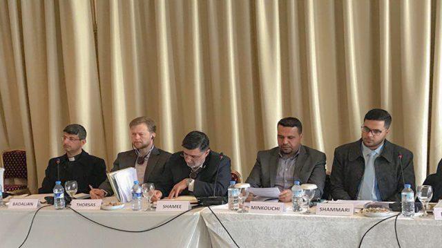 fr.shafaqna - Le saint Sanctuaire husseinite participe à une conférence internationale sur la jeunesse irakienne à Chypre
