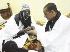 Khalife général des mourides mourides Serigne Mountakha Bassirou Mbacké Chérif Mouhammad Ali Aïdara chiites de Sénégal les relations sunnites et chiites les relations chiites-sunnites dialogue inter-religieux dialogue interreligieux Sénégal