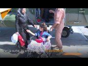 fr.shafaqna - Après un traitement en Russie, une jeune syrienne ayant perdu ses deux jambes dans un bombardement réapprend à marcher