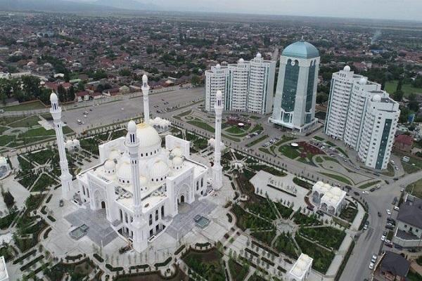 Tchétchénie, Europe, mosquée