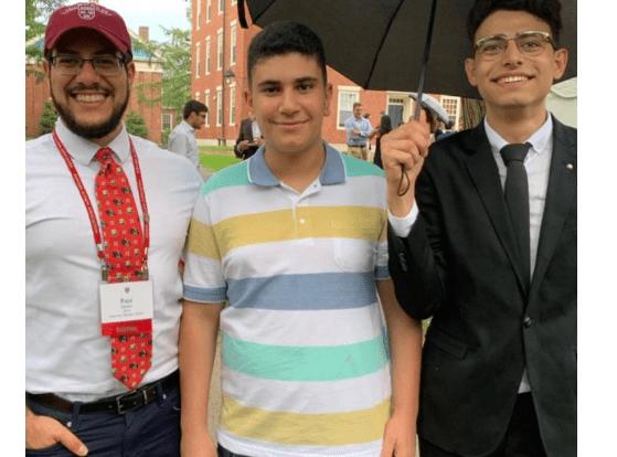 Harvard, Palestinien