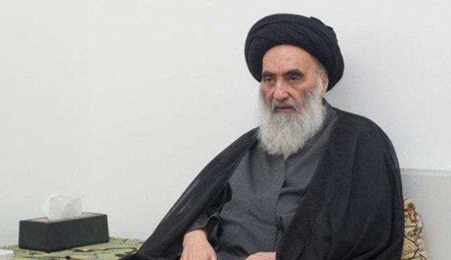 manifestations, Ayatollah Sistani