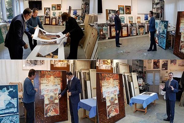 art islamique, Ispahan, Frank Rudel