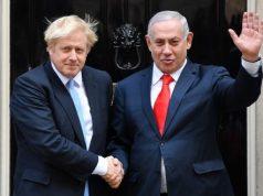 Royaume-Uni, Boris Johnson, Benjamin Netanyahu, Israël