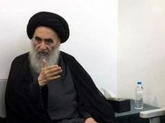 Grand Ayatollah Sistani, Irak, manifestations, sermons de vendredi