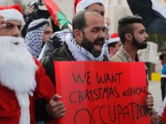 Israël, Palestine, Noël