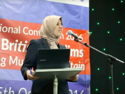 fr.shafaqna - L'Association musulmane de Grande-Bretagne élit sa première femme présidente Raghad Altikriti