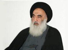 L'ayatollah Sistani est arrivé à Najaf