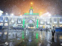Karbala, neige