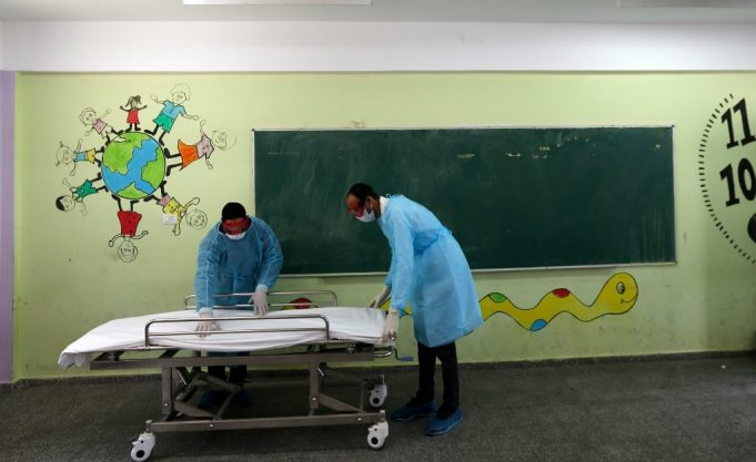 Coronavirus, Gaza, OMS, ONU
