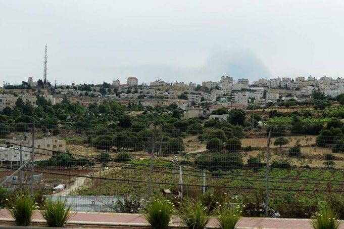 Cisjordanie, slogans racistes