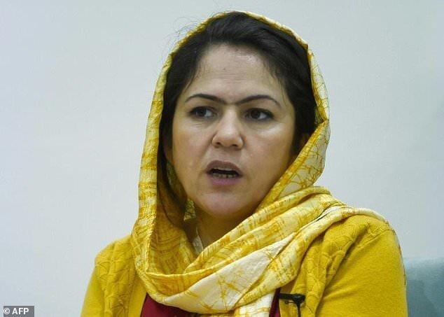 Fawzia Koofi, Afghanistan