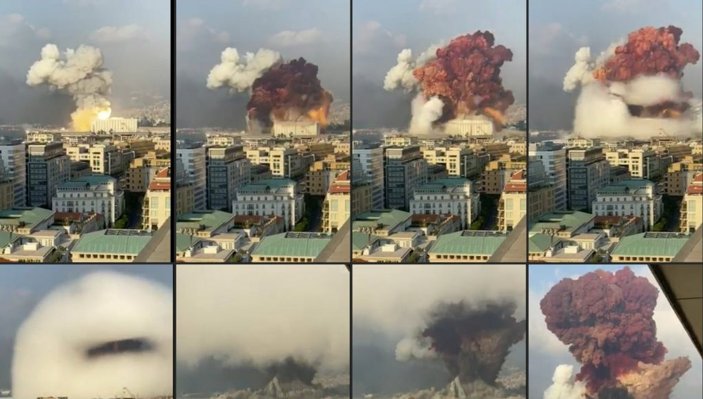 explosions, Beyrouth