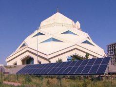 Kazakhstan, mosquée écologique