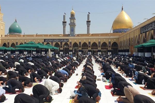 Koufa, Mosquée de Koufa, prière du vendredi