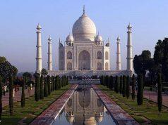 Inde, le Taj Mahal, coronavirus