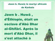 Jawn b. Huwâ, Karbala