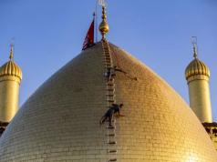 Irak, sanctuaire sacré d'al-Abbas (as)