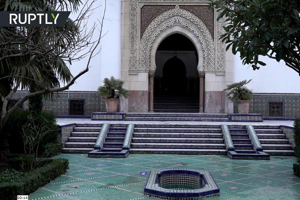 Grande Mosquée de Paris, France