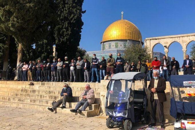mosquée al-Aqsa, Cheikh Mohamed Hussein, musulmans