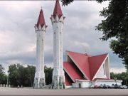Russie, mosquée Lala Tulpan, musulmans russes
