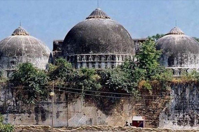 Inde , mosquée de Dhannipur, mosquée Babri