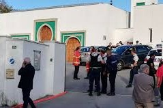 France, Emmanuel Macron, mosquée de Bayonne